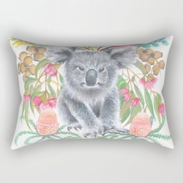 Home Among the Gum leaves Rectangular Pillow