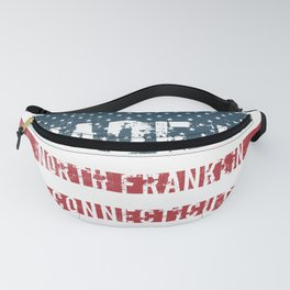 Made in North Franklin, Connecticut Fanny Pack