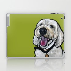 Kermit the labradoodle Laptop & iPad Skin