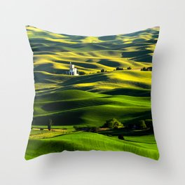 The Granary Throw Pillow