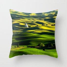 The Granary Throw Pillow