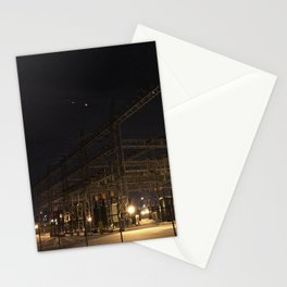 Electric Home Stationery Cards