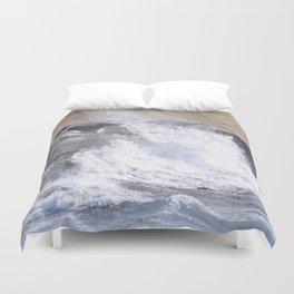 SPLASHING OCEAN WAVE Duvet Cover