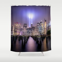 Spirit of New York II Shower Curtain