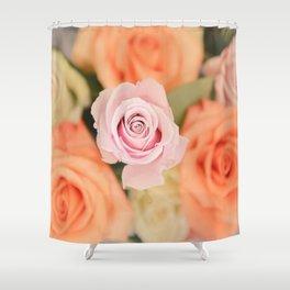 Summer Roses Shower Curtain