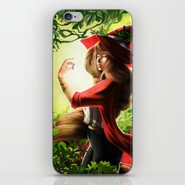 Spring Witch iPhone Skin