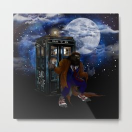 Werewolf 10th Doctor who Metal Print