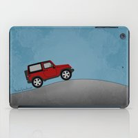 jeep iPad Cases featuring Jeep Jeep by rochaStuff