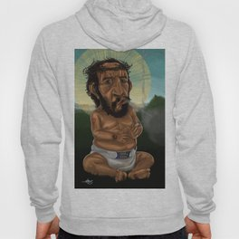 Baby Jesus Having A Smoke Break Hoody