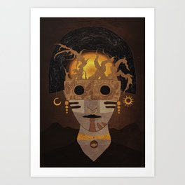 """Priest"" Art Print"