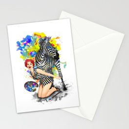 Colorphobia Stationery Cards