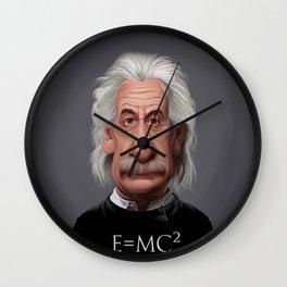Celebrity Sunday ~ Albert Einstein E=MC² Wall Clock