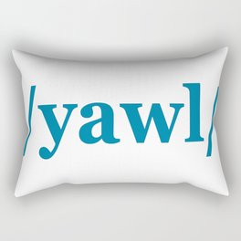 2nd Person Plural Rectangular Pillow