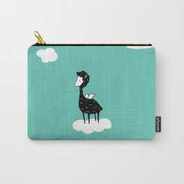 Flying Alpaca by Amanda Jones Carry-All Pouch