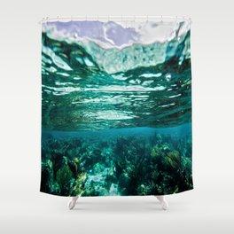Caribbean Layers  Shower Curtain