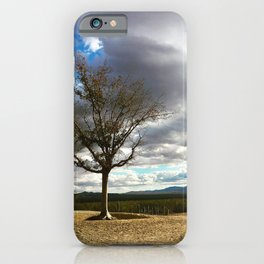 A Tree Stands Alone iPhone Case