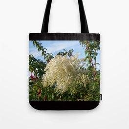 Cascade of flowers Tote Bag