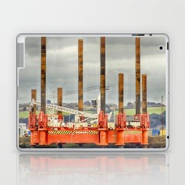 Wavewalker In Falmouth, Cornwall Laptop & iPad Skin