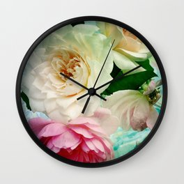 Vintage Chintz Wall Clock