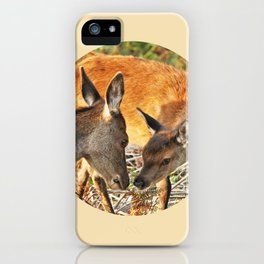 Woodland-Logo  iPhone Case
