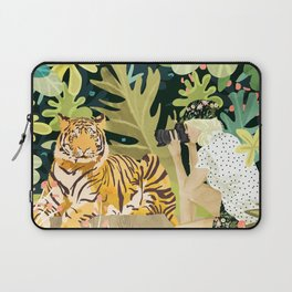Tiger Sighting Laptop Sleeve