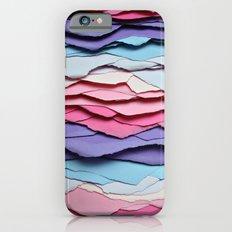 Colour waves iPhone 6s Slim Case