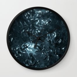 Enchanted blue Wall Clock