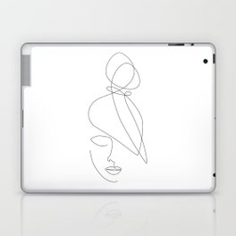 Hairstyle Lines Laptop & iPad Skin