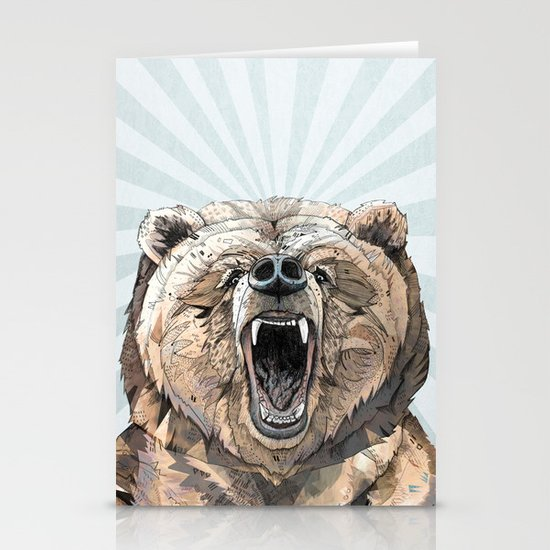 Grizzly Stationery Cards