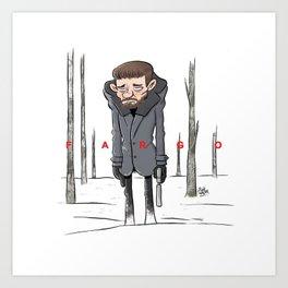 Malvo - Fargo Art Print