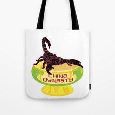 China Dynasty Scorpion Bowl Tote Bag