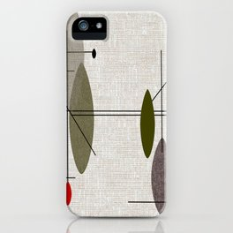 Hanging Orbs iPhone Case