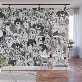 Original Sheepdogs On Watch Wall Mural