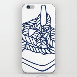 Knotical (WHITE) iPhone Skin