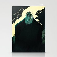 frankenstein Stationery Cards featuring Frankenstein by Annalisa Leoni