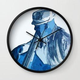Bassist Wall Clock