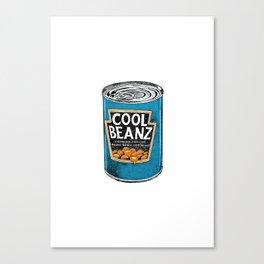 Cool Beanz Canvas Print