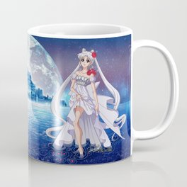 Sailor Moon Crystal Princess Serenity SILVER HAIR Coffee Mug