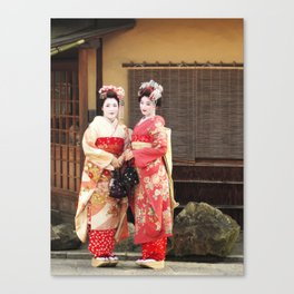 In Gion Canvas Print