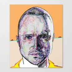 Jesse Pinkman (Beige) Canvas Print