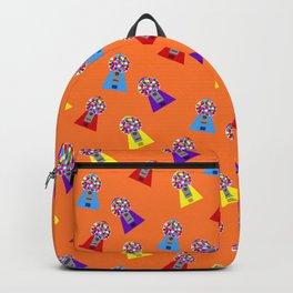 Gumball Machines,small orange Backpack