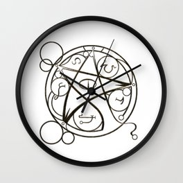 Elder Sign Wall Clock