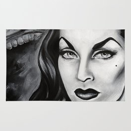 Vampira : The Original Glamour Ghoul Rug