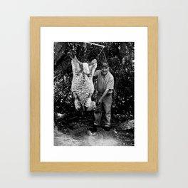 Lamb Slaughter Isla Mocha Chile Framed Art Print