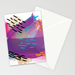 Space in Abstract Stationery Cards