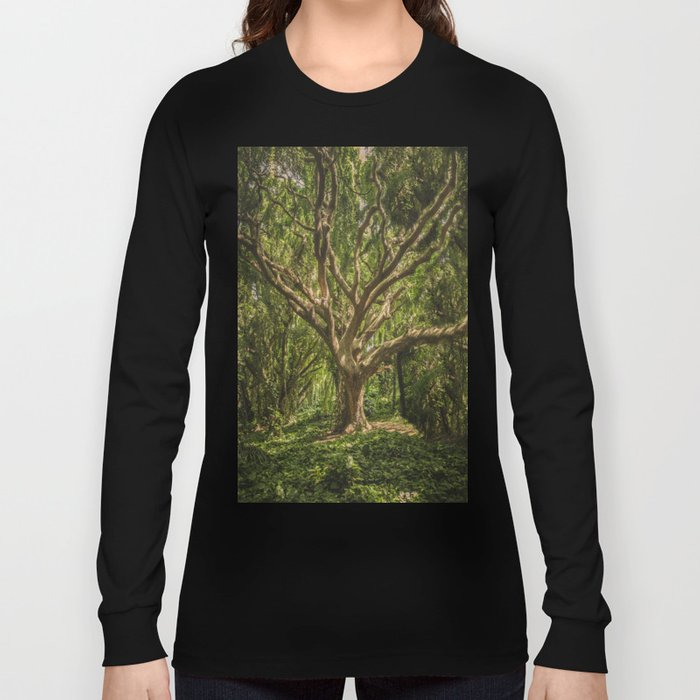 Spirits inside the wood Long Sleeve T-shirt