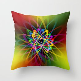 Abstract perfection - 102 Throw Pillow