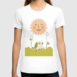Owl sun T-shirt