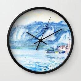 Lake Orta, Italy - Digital Remastered Edition Wall Clock
