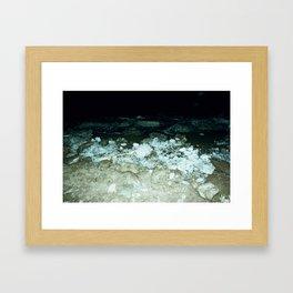 Cold winter Framed Art Print